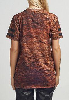 AAAACriminal Damage T-shirt - Player Fur - GTT094601MUL