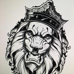 Finishing off. #king #lion #vector #illustration #adobeillustrator #Sweyda by sweyda