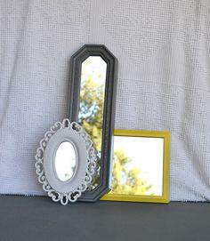 grey/yellow mirrors