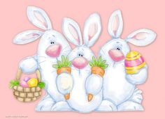 Browse Easter pictures, photos, images, GIFs, and videos on Photobucket Easter Art, Easter Crafts, Easter Bunny, Ostern Wallpaper, Easter Illustration, Easter Pictures, Spring Painting, Easter Printables, Easter Holidays