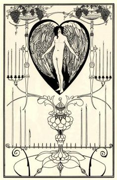 Aubrey Beardsley, The Mirror of Love