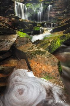 Ghosts Of April Rain - Blackwater Falls State Park, West Virginia