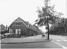 Zaagmuldersweg, hoek Ripperdalaan; 1968: sloop rode dorp