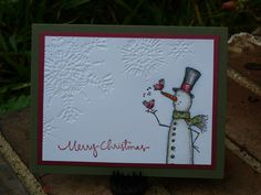 CCC2013--Sept; Snowman and friends by SuzyS1104 - Cards and Paper Crafts at Splitcoaststampers
