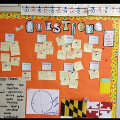 Our question board used to kick off new units ... Revisited at the end of the unit to see what questions we can now answer. Unanswered questions become independent research projects.