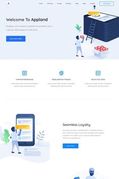 App Landing Page, Landing Page Design, Ios Design, Dashboard Design, Graphic Design, Minimal Web Design, Web Mockup, Photoshop, Layout