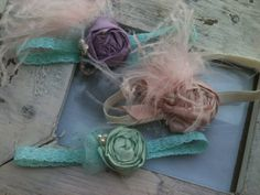 PERFECTLY+SWEET+newborn+headbands+tm+by+CozetteCouture+on+Etsy,+$15.99