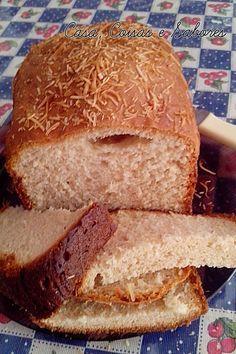 Casa, Coisas e Sabores: Receita MFP - Pão de coco na máquina de fazer pão