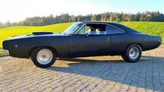 Blade Movie, 1968 Dodge Charger, Best Muscle Cars, First Car, Road Runner, Aluminum Wheels, Car Ins, Mopar, The Past