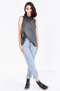 BDG Locals Muscle Tee - Urban Outfitters