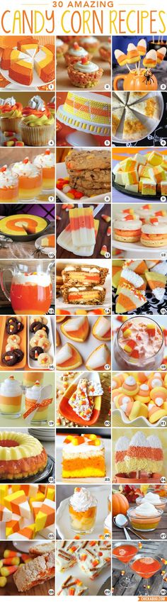 30 amazing candy corn recipes - Chickabug Blog: ideas for your beautifully personalized parties