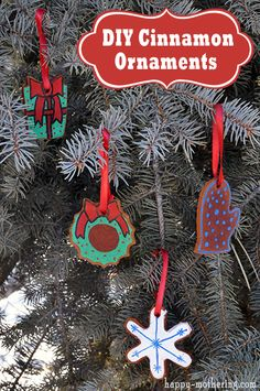 DIY Cinnamon Ornaments Recipe #McCormickBaking #ad