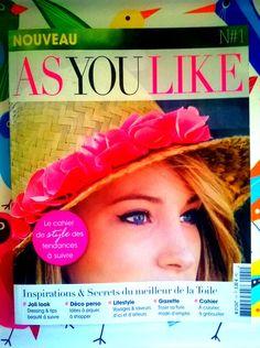 """L'Avis de Lou sur Twitter : """"@asyoulikemag observé par Lou! -->http://t.co/WwqvGf5yQQ #blog #blogger #magazinecover #fashion #design #lifestyle http://t.co/wPS9zFZbvV"""""""