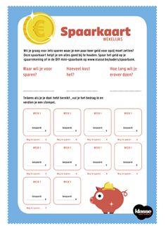 Leer sparen met de spaarkaart – Klasse voor Ouders