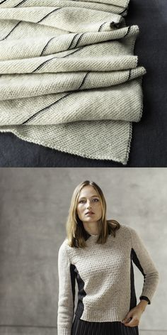 There have been two new knitting pattern photos this week that have made my eyes widen and my mouth fall open. Both happen to be near-black and off-white, which is a combo I find irresistible. And …