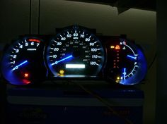 DIY LED dash conversion.