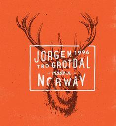Logos & Types Vol.2 by Jorgen Grotdal, via Behance