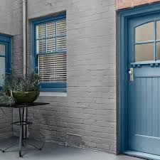 Dulux Gallant Grey Paint Shade Outdoor Tiles, Outdoor Decor, Outside Flooring, Paint Shades, Grey Paint, Tall Cabinet Storage, Painting, Home Decor, Courtyards