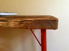 Redlegs Adjustable Coffee Table/Desk by CoilandDrift on Etsy, $750.00
