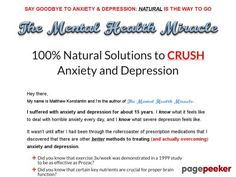 "https://t.co/bK7cxSlmnZ  The Mental Health Miracle | Crush Anxiety and Depression http://pagepeeker.com/t/l/mentalhealthmiracle.com%2f *Powered by SG*  The Mental Health Miracle | Crush Anxiety and Depression     *Powered by SG*  Interested? Click here to learn more!    Please follow and like us:  			var addthis_config =  				 url: """", 				 title: """" 			 			   http://100review.com"