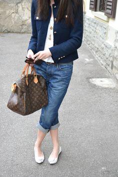 white gold blue zara outfit scotch