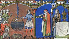 Maciejowski Bible, 1250 - Cloak