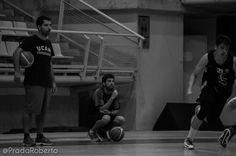 Ramón Carbonell y José A. Sánchez, ayudantes de Kuko Cruza en el equipo de Adecco Plata. 29 de agosto #baloncesto #AdeccoPlata #Lucentum #Alicante #basket