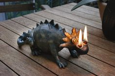 the Dragon - Oil Lamp by Aquascape - Discontinued and Out-of-Stock Carlin the Dragon - Oil LampCarlin the Dragon - Oil Lamp Ceramic Animals, Clay Animals, Ceramic Pottery, Ceramic Art, Dragon Oil, Hanging Crystals, Unique Lamps, Vintage Lamps, Oil Lamps