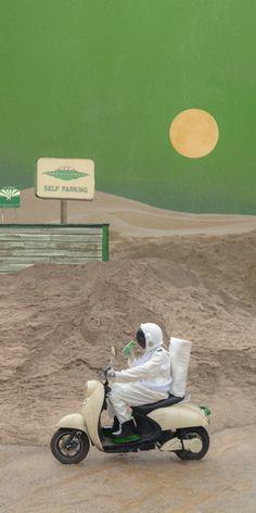 Aesthetic Pastel Wallpaper, Scenery Wallpaper, Cute Wallpaper Backgrounds, Aesthetic Backgrounds, Cool Wallpaper, Cute Wallpapers, Aesthetic Wallpapers, Astronaut Wallpaper, Kawaii Wallpaper