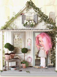 Cinderella Moments  Blythe dollhouse custom
