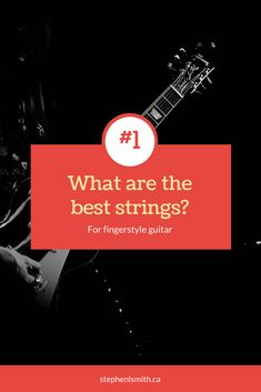You need to choose good guitar strings, without proper strings, it doesn't matter how expensive your guitar is, it won't sound right! Click the link to see how I've broken down what you need for the right strings. Guitar Tips, Guitar Lessons, Fingerstyle Guitar, Cheap Guitars, Guitar Strings, Get Excited, Cool Guitar, Getting Things Done, Acoustic Guitar