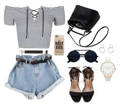 """""""Untitled #75"""" by elo379 ❤ liked on Polyvore featuring Topshop, Casetify and Forever 21"""
