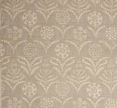 Paradeiza in Smoke from Lisa Fine Textiles #fabric #linen #neutral