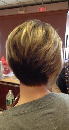 Short Hair On Pinterest Stacked Bobs Frankie Sandford