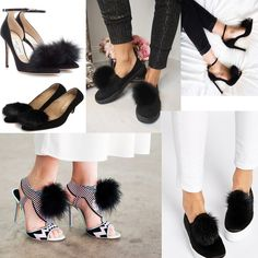 Recreate all these looks with our Black Furla Pom Pom Shoe clips. Just transfer them from one shoe to the other to create different looks. http://www.secretfashionfixes.ie/p/furla-pom-pom-shoe-clip-black/furlablk