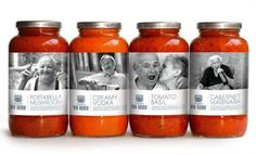 love images on pasta sauce!