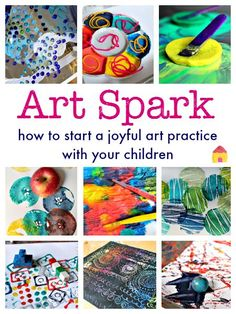 Boost kids creativity with a new kids art idea to try: ever tried painting on textured surfaces?