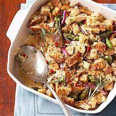 Herbed Turkey Strata