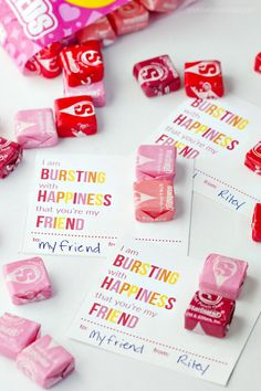 These printable Starburst Valentines are perfect for boy or girls, and for younger and older kids. Everyone loves Starburst! My kids are always excited about giving out Valentines in class. I know they really love including candy, even though whatever comes home usually half or more of it gets tossed. It always amazes me how …