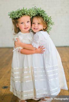 Strasburg Children Lace Heirloom dresses for flower girls, baptisms and more!