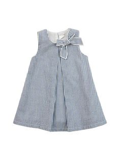 Pleated Stripe Dress by Coccode at Gilt Baby Girl Dresses Coccode dress Gilt Pleated Stripe Dresses Kids Girl, Little Girl Dresses, Kids Outfits, Frock Design, Baby Dress Design, Baby Girl Fashion, Kids Fashion, Kids Dress Patterns, Kids Frocks
