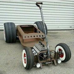 Rat Rod wagon.