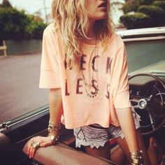 Road trip proof Summer Styles, Fashion, Reckless, Cloth, Crop Tops, Outfit, Road Trips, Graphic Tees, Shirt