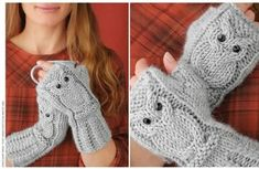 View album on Yandex. Fingerless Gloves Knitted, Crochet Gloves, Knit Mittens, Knitted Hats, Winter Knitting Patterns, Jumper Patterns, Knitting Ideas, Knitted Baby Cardigan, All Free Crochet