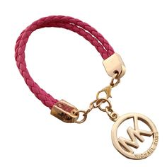 Welcome To Our Michael Kors Braided Logo Pink Bracelets Online Store
