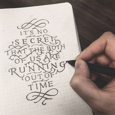 25 Nice Hand-lettering & Calligraphy Designs | From up North