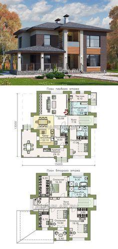 Dream Home Design, My Dream Home, Building Plans, Building A House, 2 Storey House Design, Sims House Plans, Home Decor Shelves, Apartment Projects, Fantasy House