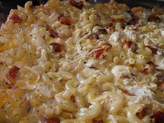 Chicken Bacon Noodle Casserole