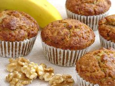 Ma Petite Boulangerie: Banana-Walnut Muffins