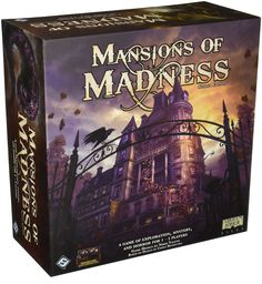 Amazon.com: Mansions of Madness 2nd Edition Board Game: Toys & Games